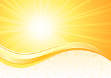 Fototapety Sunburst  background
