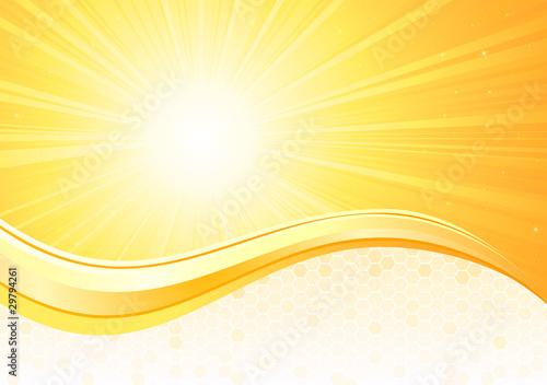 Tło Sunburst