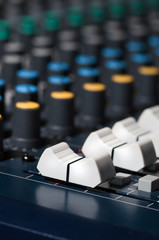 Audio mixing board