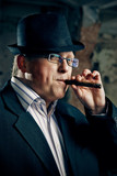 mafia boss with cigar