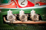 vintage race car engine carburetors