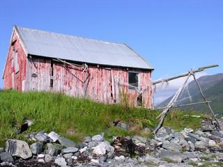 norwegisches Bootshaus