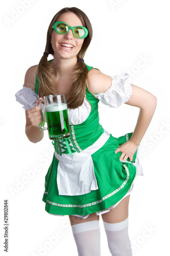 Saint Patricks Girl