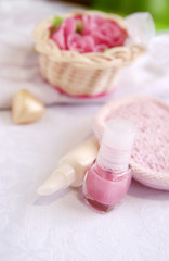 Cosmetics for nail and hands care treatment