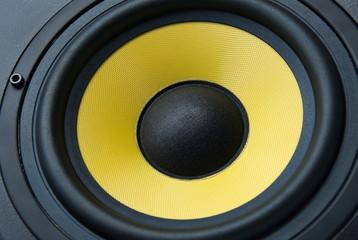 Speaker, closeup