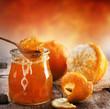 Domowa konfitura pomarańczowa