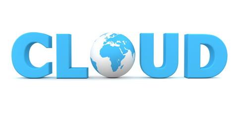 Cloud World Blue
