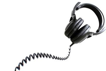 Headphones, isolated on white