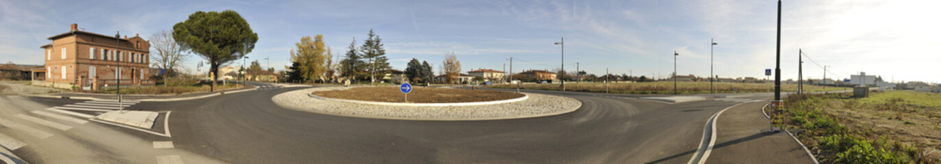 Rond-point panoramique