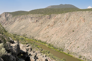 Rio Grande River Gorge New Mexico, United States