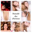 beauté du cheveux - collage