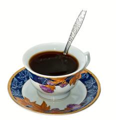 preparing instant coffee