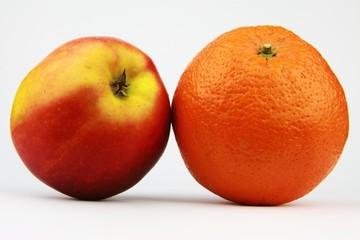Apfelsine, Apfel