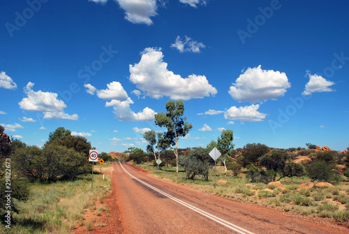 Australian bush landscape