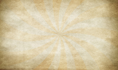 Sunburst on grunge background