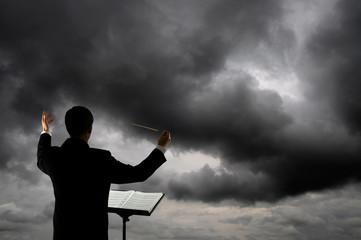 Conducting sky
