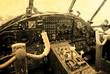 Fototapete Doppeldecker - Jahrgang - Flugzeug