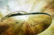 Grunge aviation background