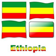 Bandiera Ethiopia
