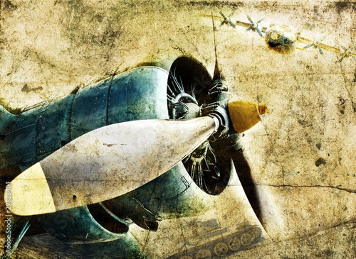 silnik-samolotu-grunge