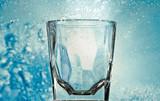 glass close-up