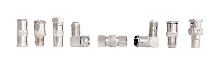 Coaxial cable adapters