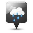 Symbole vectoriel météo pluie 03