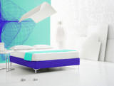 minimal bedroom poster