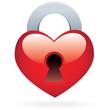 coeur cadenas