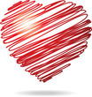Coeur dessiné à main levé