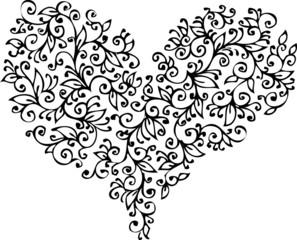 Romantic Heart vignette XVIII