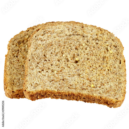 Dry Toast Isolated