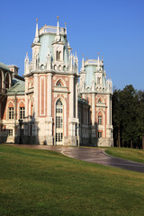 "The palace in Moscow museum-reserve ""Tsaritsyno"""