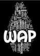 Wireless Application Protocol - WAP on black background