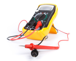 Digital yellow multimeter