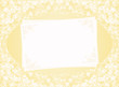invitation blank pale yellow