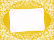 invitation blank yellow