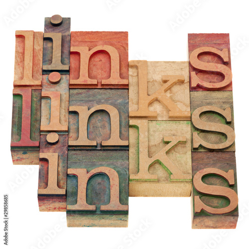 links word abstract