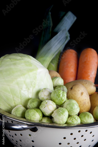 Dutch Winter Vegetables Vertical