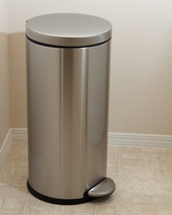 Stainless Steel Laundry Bin