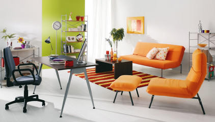 modern young person's house interiors