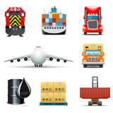 Transportation and shipping icons | Bella series