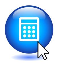CALCULATOR Button (calculate mathematics online web tools go ok)