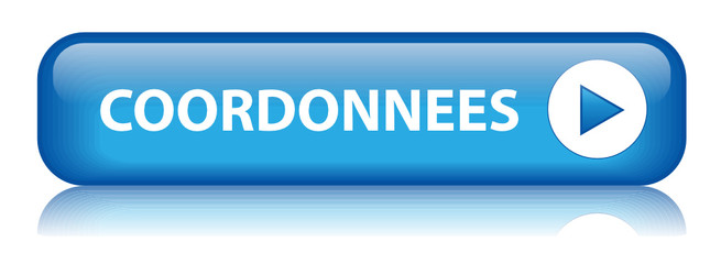 "Bouton Web ""COORDONNEES"" (contact service clients communication)"