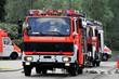 Löschwagen der Feuerwehr