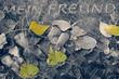 Leinwanddruck Bild - Friedhof 04
