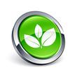 icône bouton internet plante nature