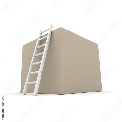 Climb up the Cardboard Box