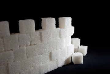 part of sugar wall