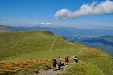 Carpathian hiking